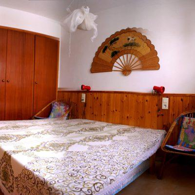 Schlafzimmer Ferienhaus Casa Äsche