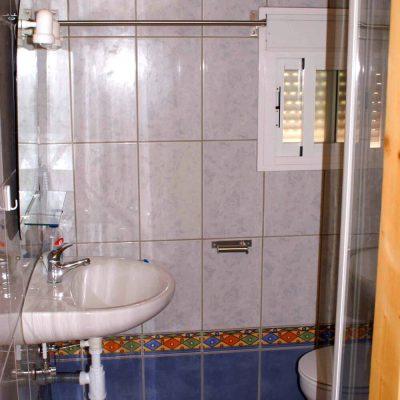 Badezimmer Obergeschoss Ferienhaus Casa Viva