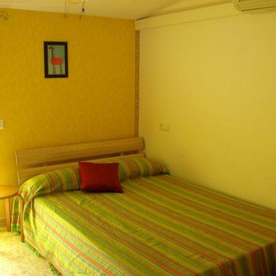 Schlafzimmerecke Obergeschos Ferienhaus Casa Viva