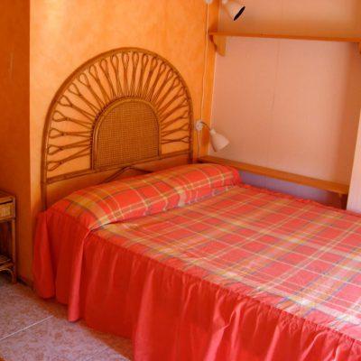 Schlafzimmer Obergeschoss Ferienhaus Casa Viva