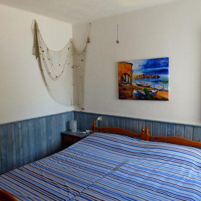 Elternschlafzimmer Ferienhaus La Ventura, Sicht von Zimmereingang