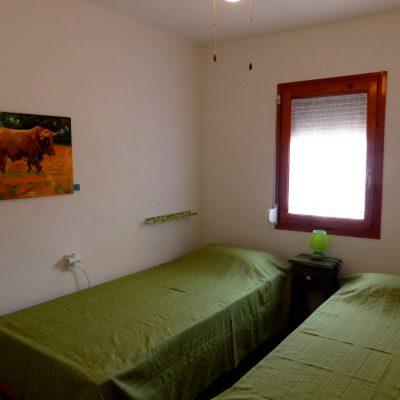 Kinderschlafzimmer Ferienhaus La Ventura, Sicht von Zimmereingang
